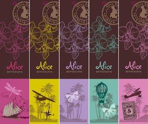Alice Adventures Orchidee Phalaenopsis Labels